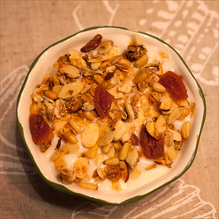 Granola with Yogurt final